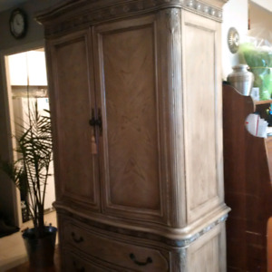 Wooden TV Stand or Armoire