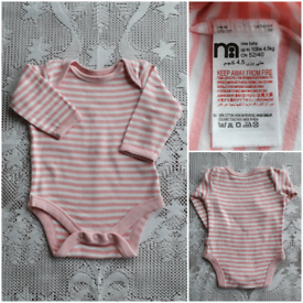 MOTHERCARE NEW BABY BODYSUIT