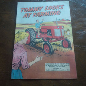 Tommy Looks At Farming, by B.F. Goodrich, Akron, Ohio
