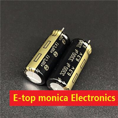2200UF 6.3V PANASONIC RADIAL ELECTROLYTIC CAPACITORS.10X20MM.FL 20PCS