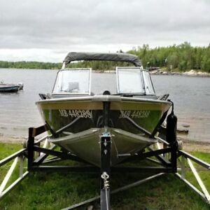 2006-1792 Misty River Talon with 140 hp 4 stroke Suzuki out boar
