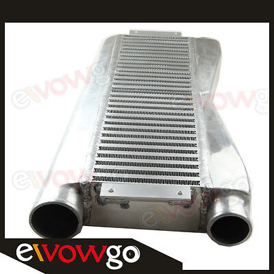 Universal Twin Turbo Intercooler All Fit For  2 In 1 Out