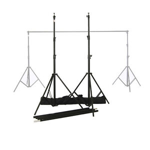 NEW Cameron Portable Backdrop Stand with Bag & White Backdrop