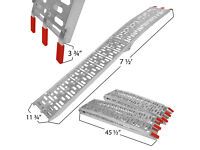 Pair of lightweight folding aluminium ramps - new unused