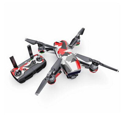 DJI Spark Wrap - Signal by Drone Squadron - Sticker Skin Decal