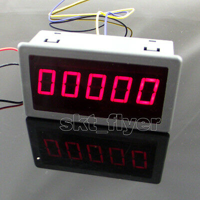 0.56 Red Led Digital Counter Timer Meter Count Three Function Dc 12-24v