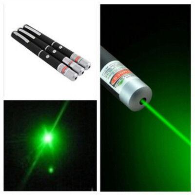Laser Pointer Pen Laserpointer Espada Pointeur Lasers Petardos Green 5MW 532nm