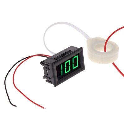 100a Dc 5-120v Digital Voltmeter Current Voltage Amp Meter W Hall Effect Sensor