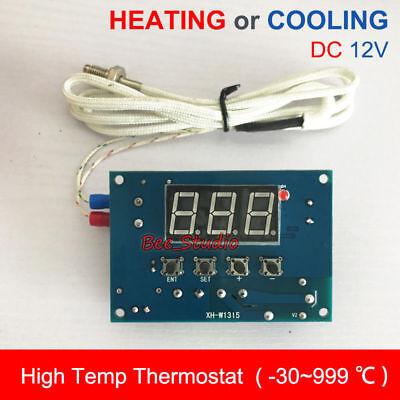 High Temperature K-thermocouple Digital Led Temp Controller Switch Module