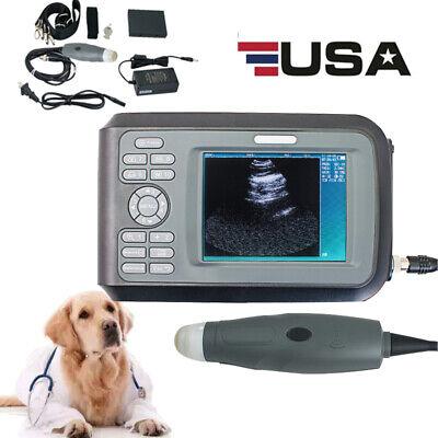 Digtal Veterinary Ultrasound Scanner Handheld Machine For Pregnancy Animal Fda