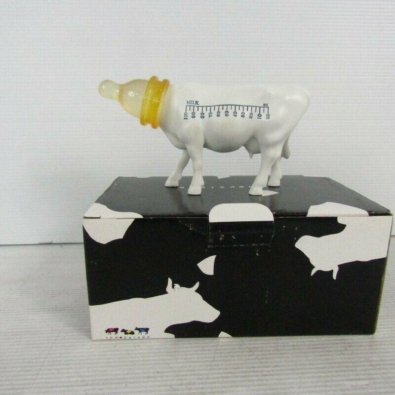 Cow Parade Cow Feed Moo Ayca Ozay 2007 Milk Bottle