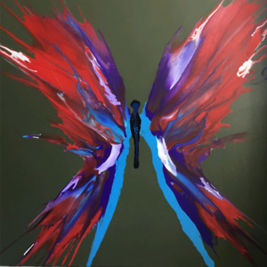 ORIGINAL PAINTING ART Butterfly