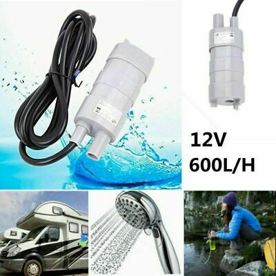 12V/Volt Water Pump Submersible Caravan Camper Motorhome High Flow Whale Pump UK