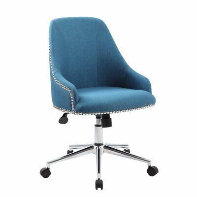 Scranton Co Desk Chair In Peacock Blue