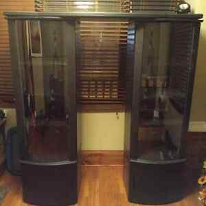 Cabinets for entertainment unit