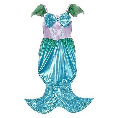 Storybook Wishes Girls Mermaid Halloween Costume  (Child  4-6 Years) Ariel ](Storybook Costumes For Girls)