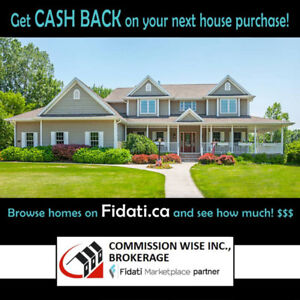 GET THOUSANDS IN CASH BACK ON YOUR NEXT HOME PURCHASE