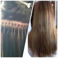 HAIR KANDY EXTENSIONS! same day IN SALON/MOBILE! hot fusions