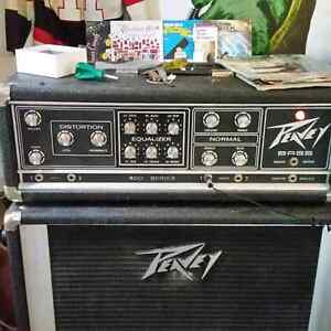 Vintage Peavy  400 series bass head and speaker cab