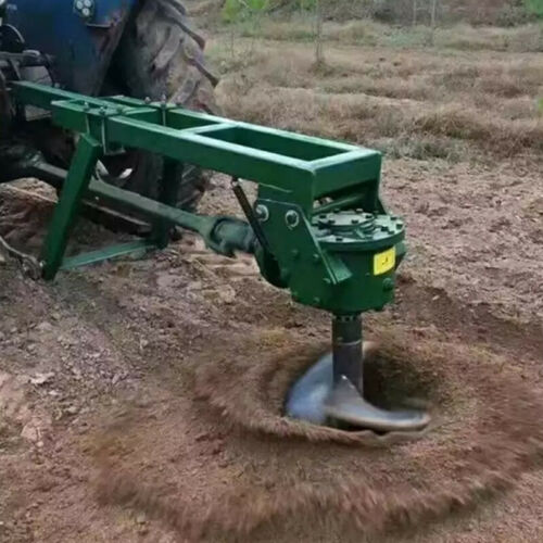 Tractor Mounted Ground Hole Drill Tractor Portable Ground Hole Drill Earth Auger