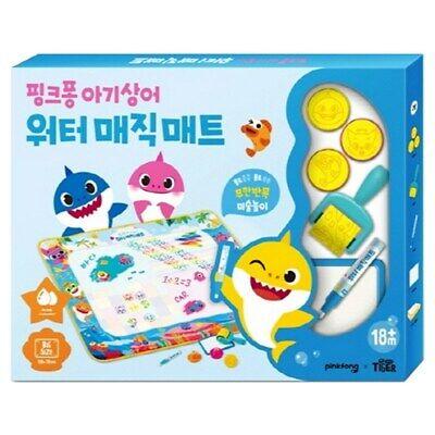 Samsung Publishing Company Pink Pong Baby Shark Water Magic Mat: Water bean past