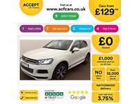 Volkswagen Touareg FROM £129 PER WEEK!