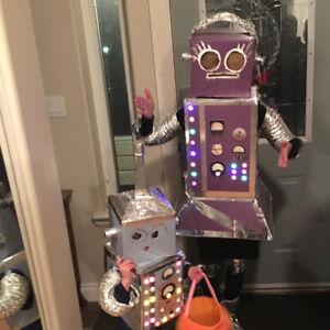 Home made robot costume