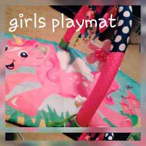 Two play mats.