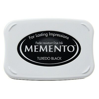 Stempelkissen Memento tuxedo black schwarz