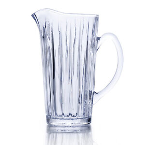 Mikasa Revel 4 Highball glasses, Pitcher, Ice Bowl. New in Box.
