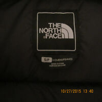 NORTH FACE MANTEAU HIVER FEMMES NEUF / SMALL / GRIS CHARCOAL