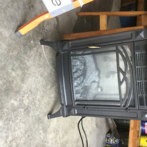 Electric fireplace$75.00