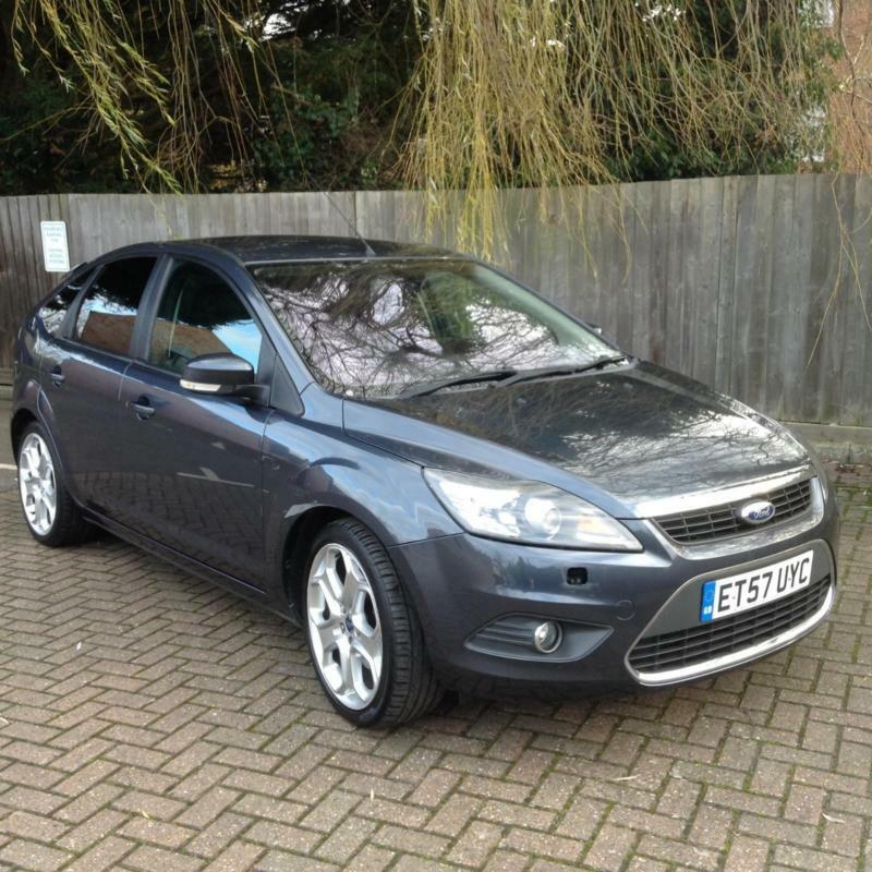 Ford Focus 2 0 Petrol 2008 Titanium August 2019 M O T Grey With Full Leather In Romford London Gumtree