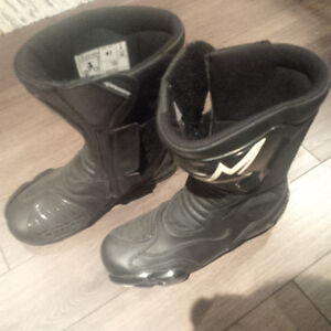 Size 9 Womens Alpine Stars Motorcycle boots
