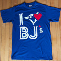 MENS I HEART BJS T-SHIRT TORONTO LOVE BJ'S SHIRT BLUE JAYS
