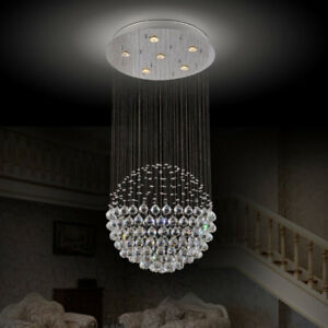 "24"" CRYSTAL SPHERE CHANDELIER – BRAND NEW & UNUSED!"