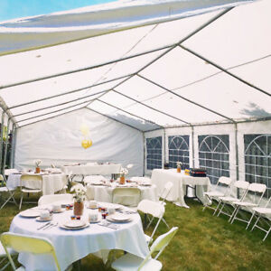Rent our tent tables chairs and more for events!