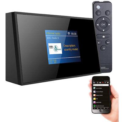 VR-Radio Digitaler WLAN-HiFi-Tuner mit Internetradio, DAB+, UKW, Fernbedienung Digital Hi-fi