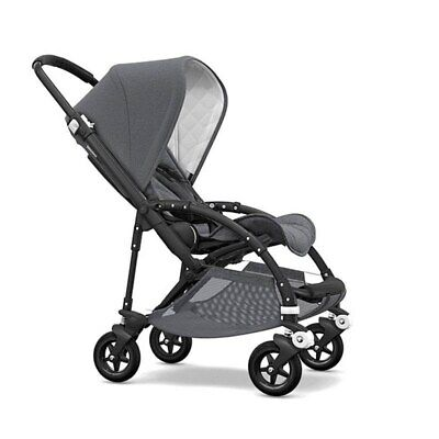 Bugaboo Bee5 Classic Complete Stroller - Black/Grey Mélange FACTORY SEALED BOX