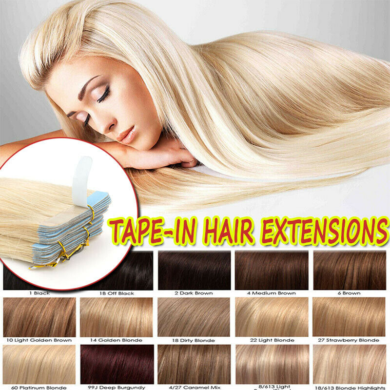 CLEARANCE Seamless Tape in 100% Remy Human Hair Extensions F