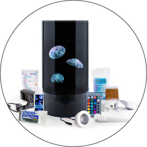 JellyfishArt Nano Cylinder Jellyfish Aquarium - New In Box