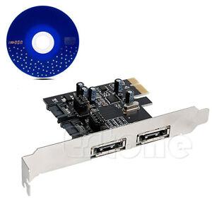 PCI-E To SATA3.0 Three Generations PCIE SATA3 Expansion Card PCI-E Adapter OK