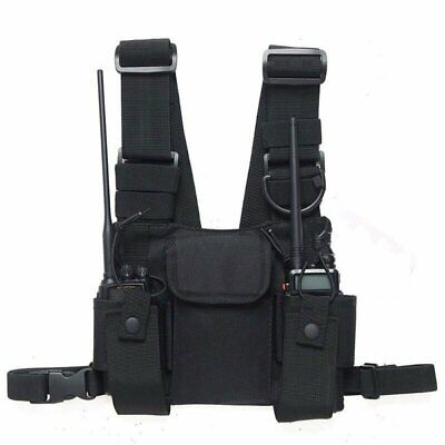 Tactical Radio Chest Harness - Multifunctional Two-way Radio Chest Holster