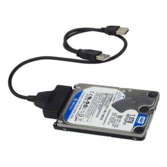 USB 2.0 to SATA 7+15 Pin 22 Pin Adapter Cable For HDD Hard Disk D Melbourne CBD Melbourne City Preview