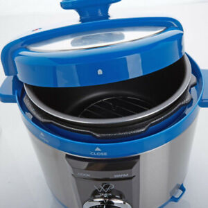 new Wolfgang Puck 5-Quart Pressure Cooker w/Cookbook