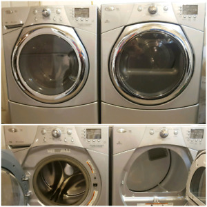Whirlpool duet washer and steam dryer