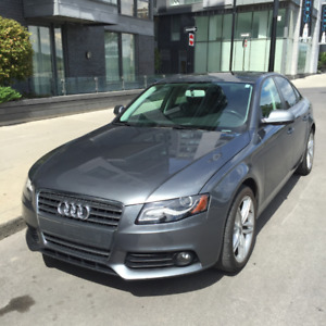 Audi 2012 A4 Premium AWD Manual | 103,000 km