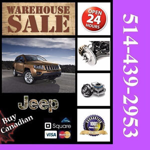 Jeep Compass ► Roulements, Étriers • Bearings, Calipers