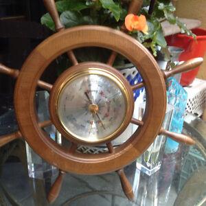 Antique German Ship Barometer 1950`s