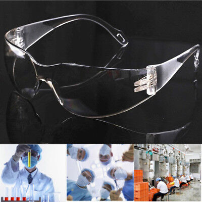 Laboratory Spectacles Safety Clear Glasses Goggles Work Eye Protective Eyewear N